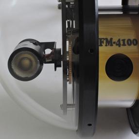 waterproof TV camera FM-4100 side view